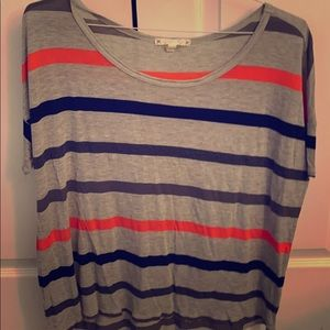 Soft Joie short Sleeved Striped Tee